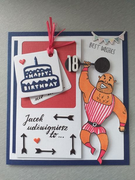 Kartka urodzinowa dla mężczyzny