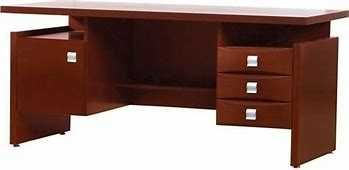 Biurko Bellagio, Forte drewno, kolor venge 170 cm