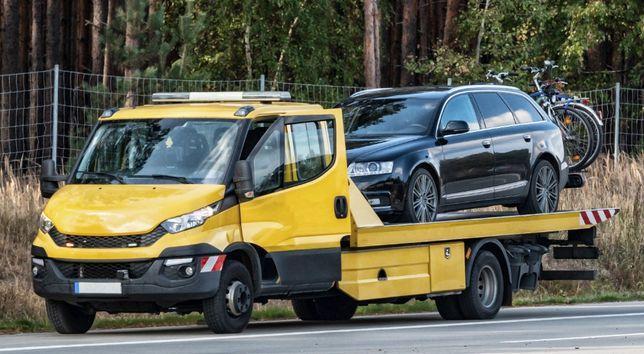 POMOC DROGOWA 24h Laweta Wąbrzeźno holowanie auto pomoc