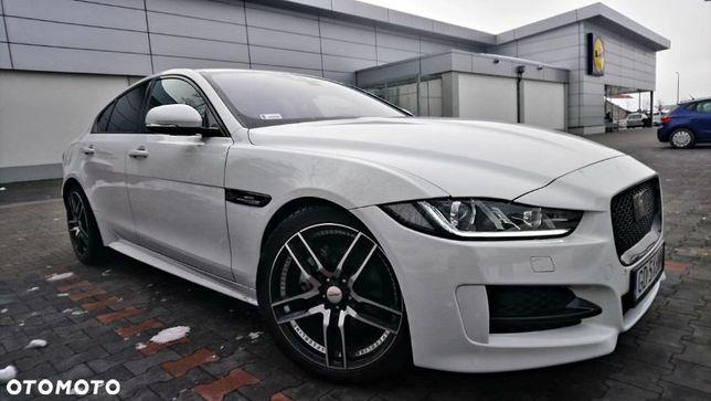 Jaguar XE R Sport 2.0d biały full opcja max jedyna w Polsce