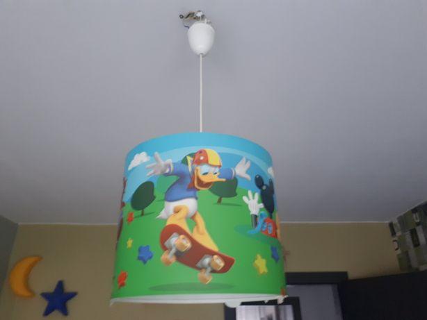 Lampa sufitowa do dziecka