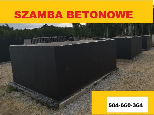Szambo betonowe 10m3 Bochnia i okolice