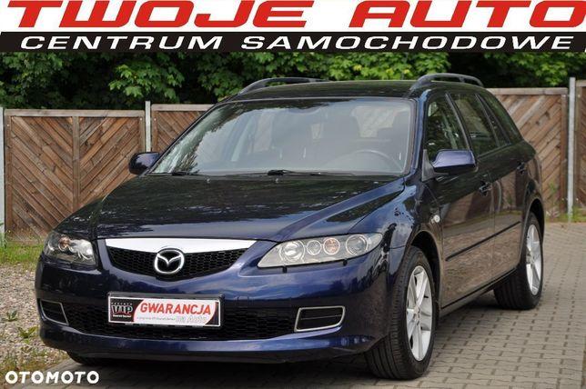 Mazda 6 Gwarancja 1.8benzyna 120ps Klimatronik Bose Niemcy Bez