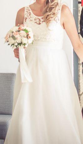 Suknia ślubna (również ciążowa)