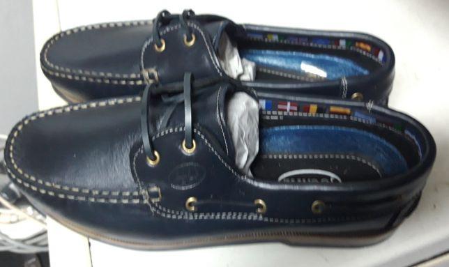 Sapatos em Pele JOCATIL Tam.42 Azuis