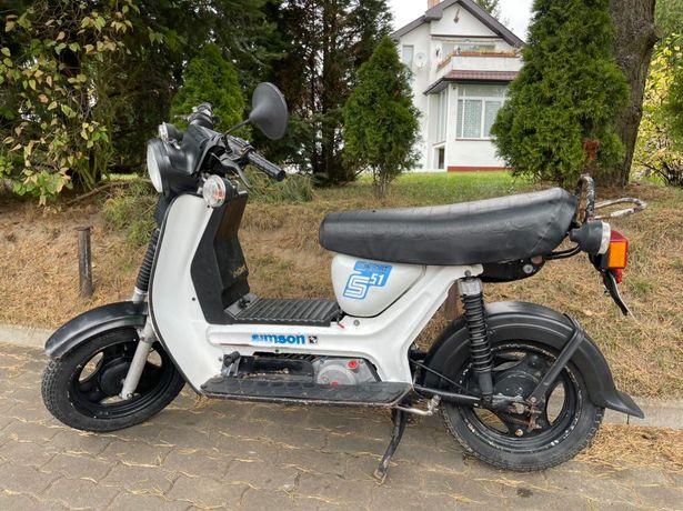 Simson SR50 CE E-Start Zarejestrowany