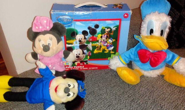 Myszka Mickey puzle 3+ duze,donald,miki