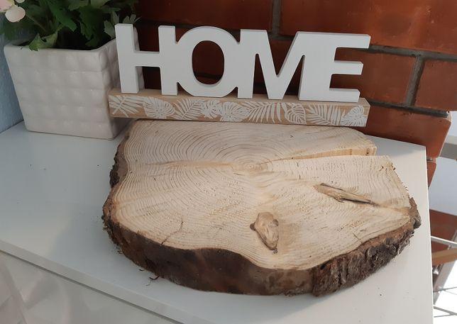 Plastry drewna dekoracyjne