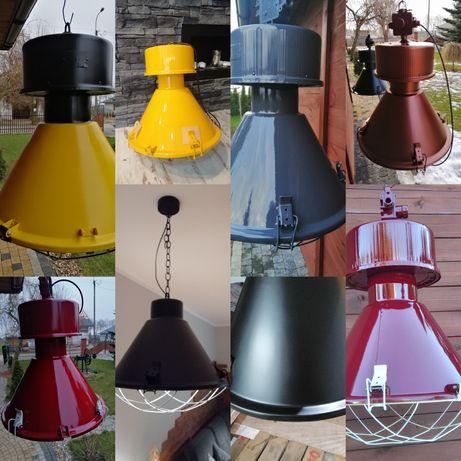 Lampa przemysłowa w stylu loft, vintage, prl