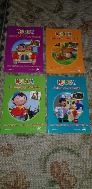Livros CTT - 4 Historias do Noddy