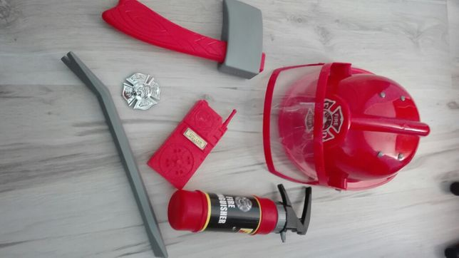 Zestaw strażacki dla dziecka