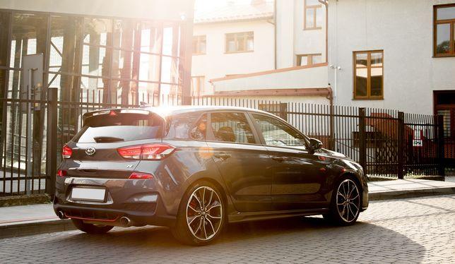 Hyundai i30n Performance wynajem wypożyczalnia nie focus rs type r gti