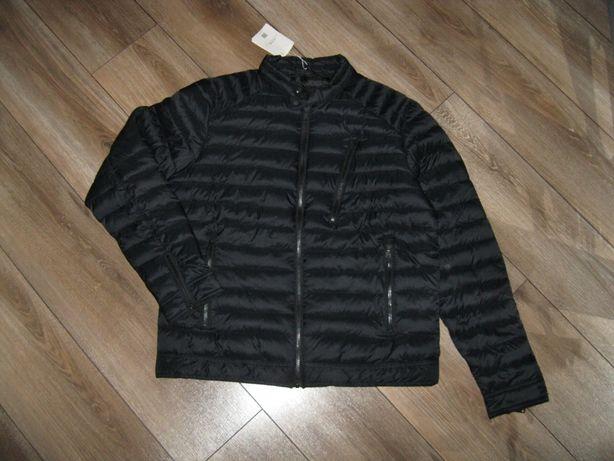 Мужская куртка черная / Bershka / демисезон