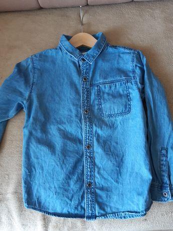 Koszula jeansowa zara 110
