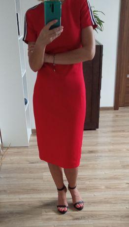 Czerwona sukienka rozm. 36