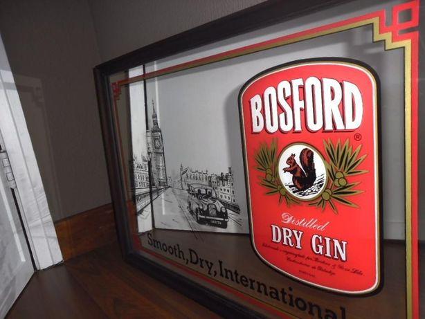 Espelho Publicitário Gin Bosford