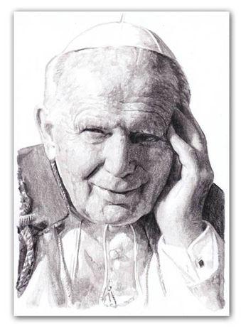 Portret Papież Jan Paweł II , Papież Franciszek