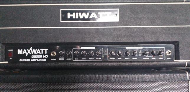 Hiwatt Maxwatt Head G200R HD + Kolumna Maxwatt M412