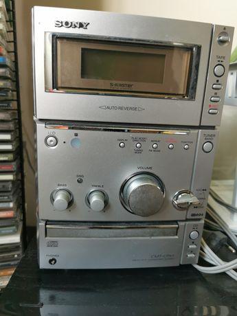 Wieża Sony CMT-CPX1 Hi-Fi magnetofon CD radio
