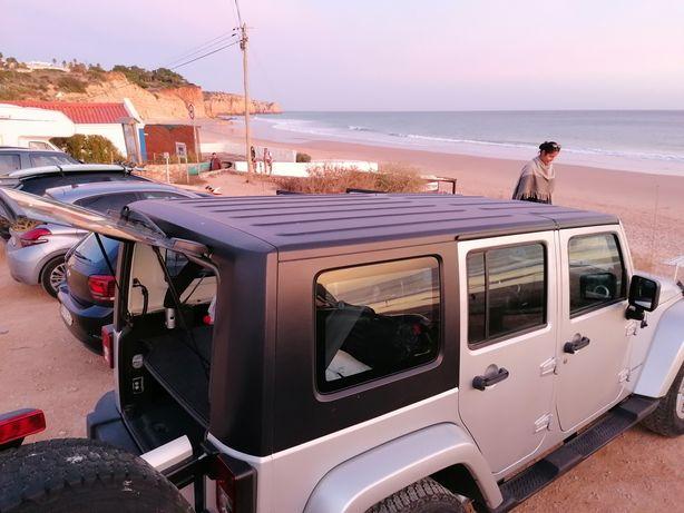 Hard top/capota rija para jeep wrangler 4portas 2008