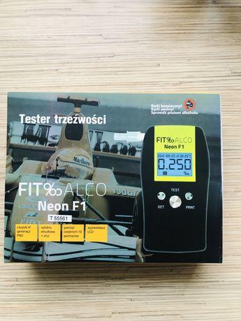 Alkomat tester trzeźwości FitAlco Neon F1 Nowy Nietrafiony prezent