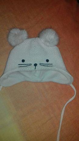 Детская шапка H&M от 0 до 2х месяцев