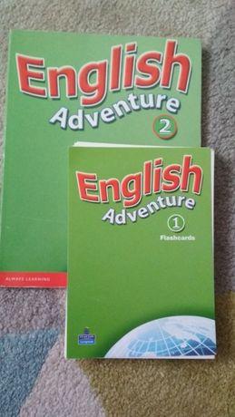 Flashcards English Adventure 2 , karty obrazkowe