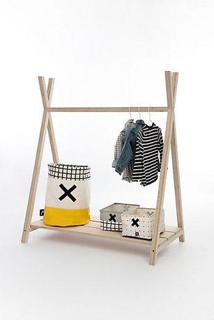 Charriot / Cabide / Guarda-Roupa Montessori | My.Space