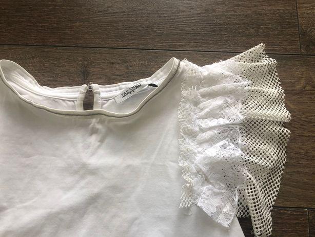 Bluzka Taranko, xs, biała, koszulka