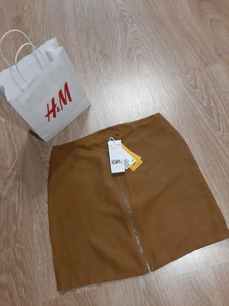 Трендовая юбка с молнией спереди H&M