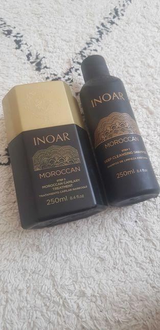 Inoar keratynowe prostowanie maroccan step 1 i 2 - 100 ml keratyna