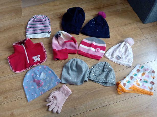 Zestaw zimowy dla dziewczynki 6-9 lat
