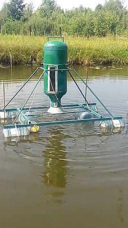 Кормушна на 40кг.для риби на ставок.