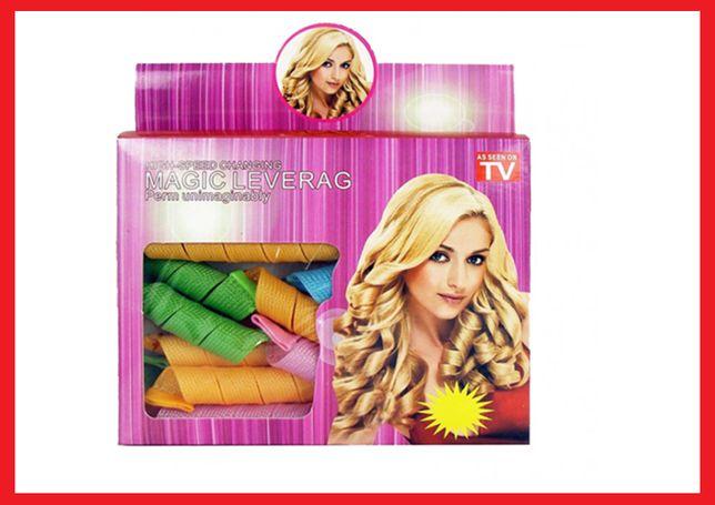 Набор Волшебные бигуди Magic Leverag для волос. Супер Цена!