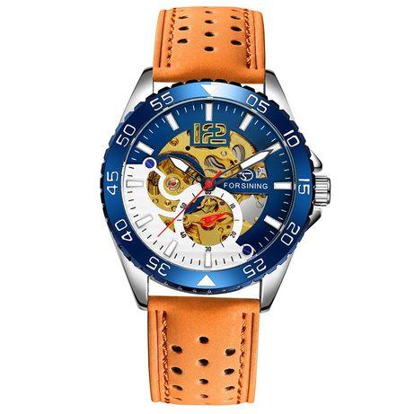 Nowy Zegarek Męski SKELETON! PRZECENA + Pudełko świąteczne GRATIS