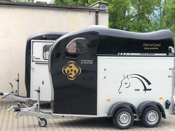 Wynajem przyczep do transportu koni