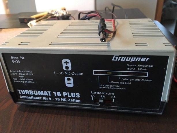 Turbomat 16 Plus Graupner 6430 ładowarka modelarska Niemiecka