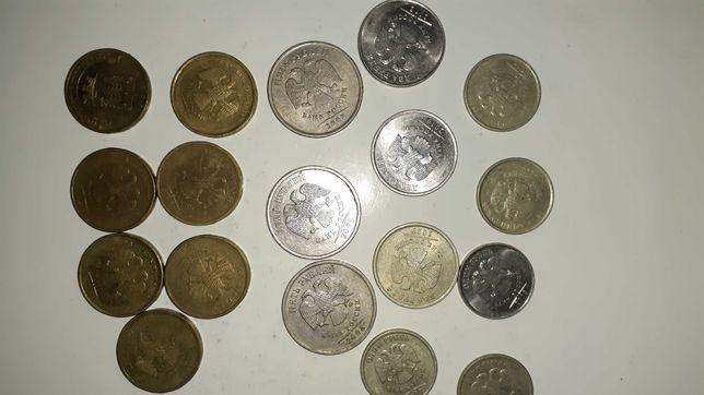 Монеты россии 1руб 2руб 5и 10 руб