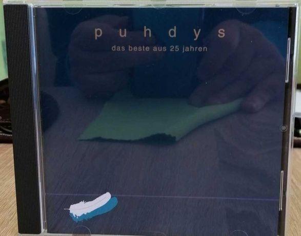 CD PUHDYS - Das Beste Aus 25 Jahren. Ost Rock ( DDR ). Rarytas.