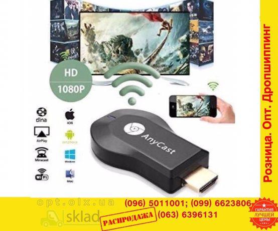 медиаПлеер Miracast anyCast M9 plusHDMI wi-Fi сМартТВ androidSmart m4
