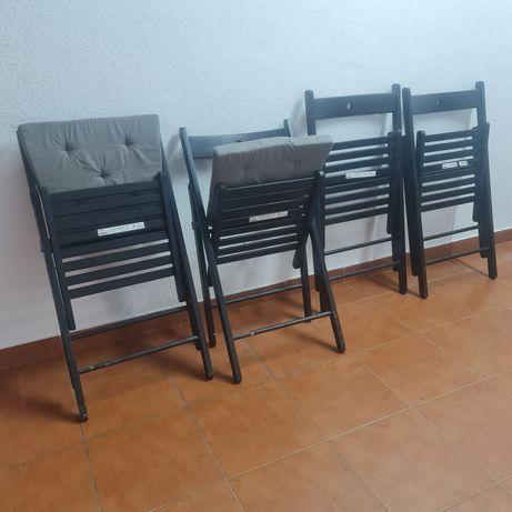 Cadeiras dobráveis Ikea