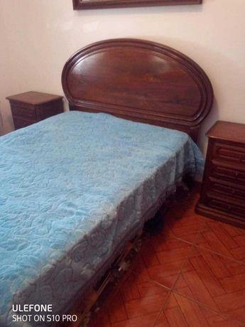 Mobília quarto casal de madeira
