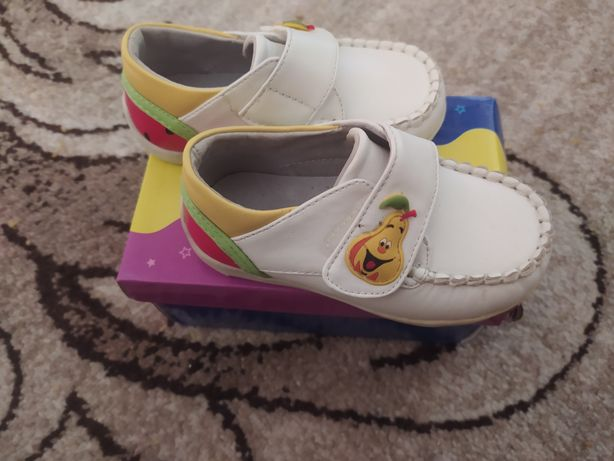 Детская обувь кожаная