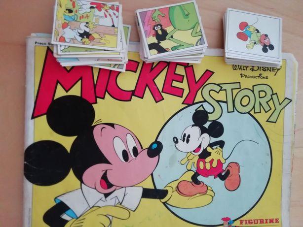 Cromos Mickey Story