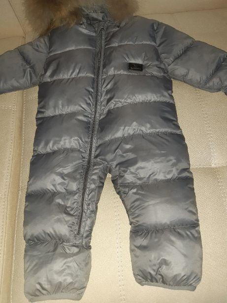 Зимовий теплий комбінезон Armani
