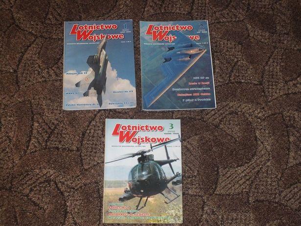Czasopismo Lotnictwo Wojskowe z lat 1998-03