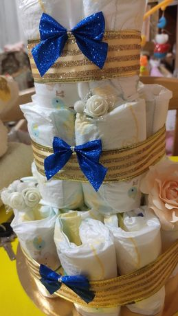 Торт з памперсів,  памперси,  торт с памперсов