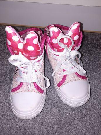 Piekne buciki trampki Minnie Mickey rozm 27 idealne