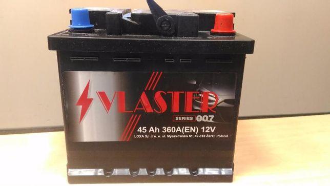 Nowy akumulator 45Ah 360A 12V Gwar. 24 miesięcy Wrocław Prod. POLSKA