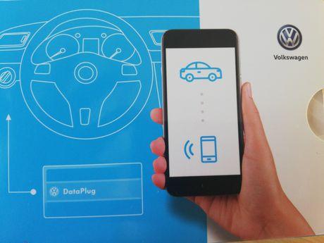 VW Volkswagen Connect, data plug, łączy auto z Twoim smartfonem